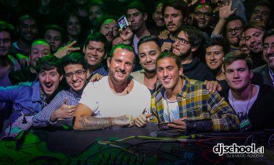 Luciano's Masterclass @ DJ School in Santiago de Chile