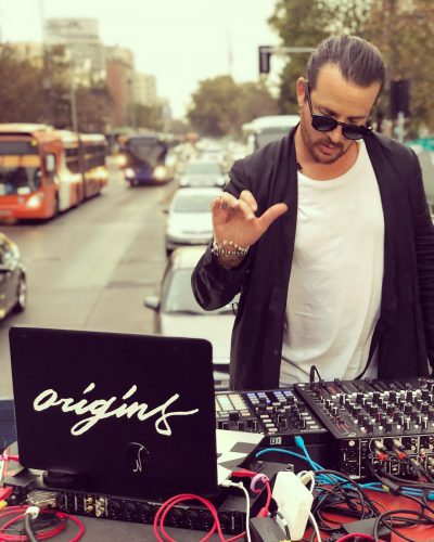DJ Luciano, roads of Santiago de Chile